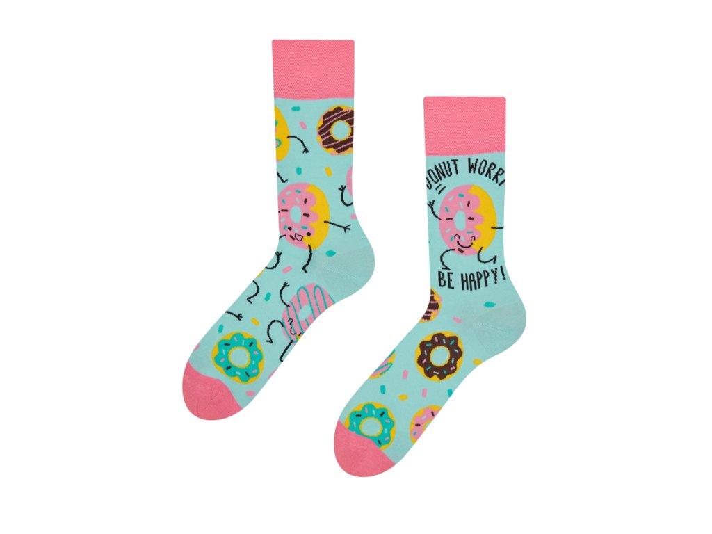 Veselé ponožky Donuty