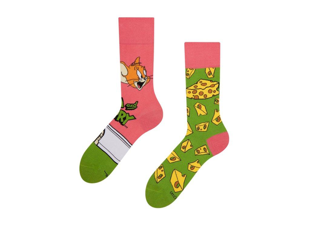 Veselé ponožky Tom a Jerry ™ Syr