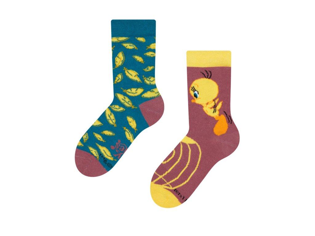 Detské veselé ponožky Tweety ™ Pierka