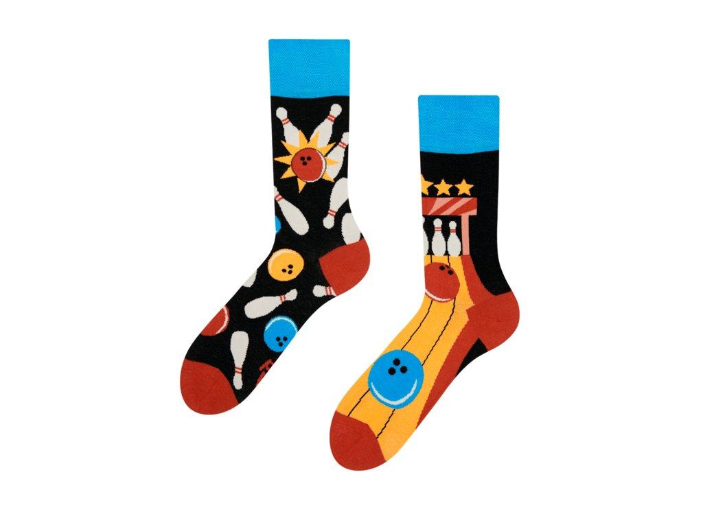 Veselé ponožky Bowling