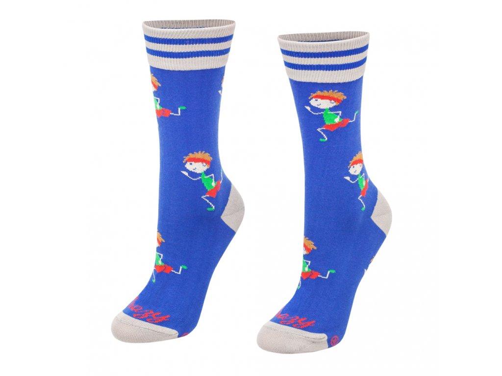 Veselé ponožky Bežec