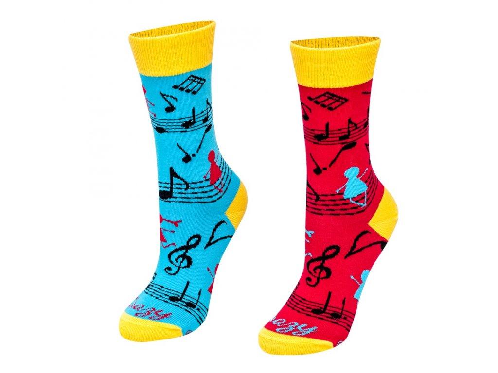 Veselé ponožky Hudobná nálada