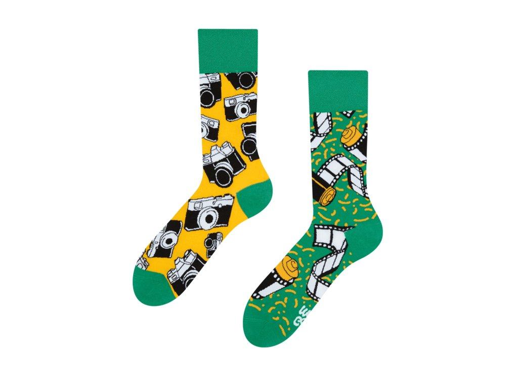 Veselé ponožky Fotoaparát od firmy Good Mood
