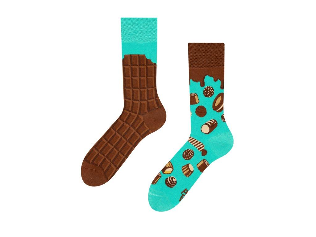Veselé ponožky Čokoláda od firmy Good Mood