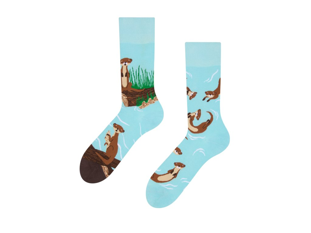 Veselé ponožky Vydry
