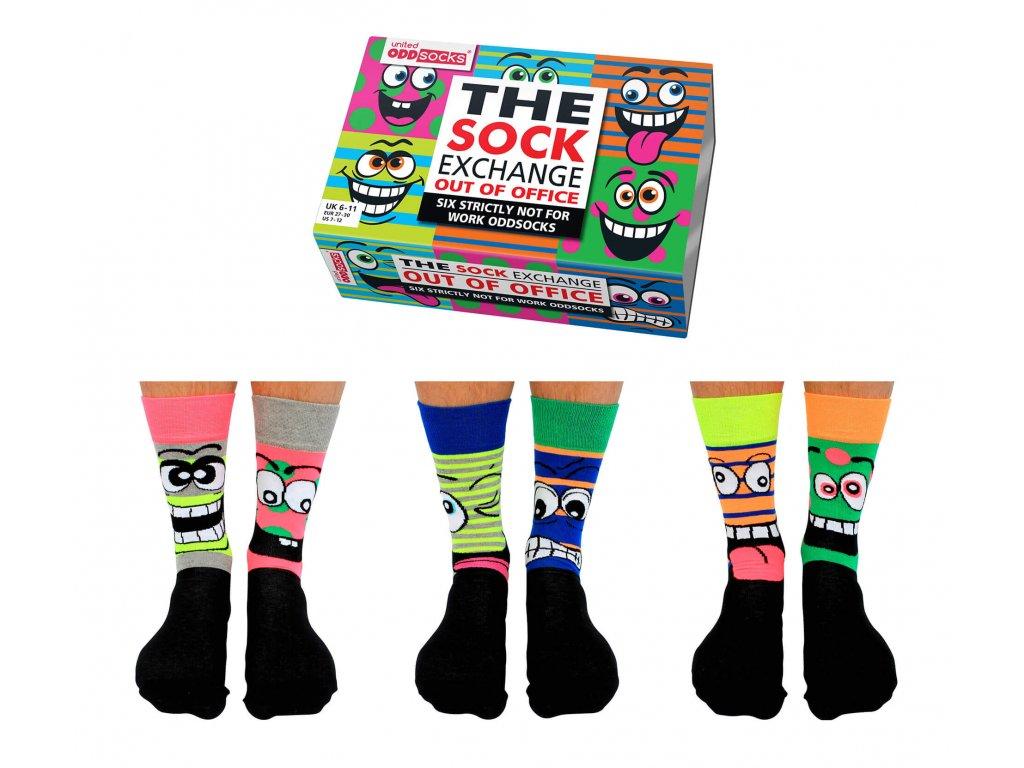 Veselé ponožky Out of Office veľ.: 39-46