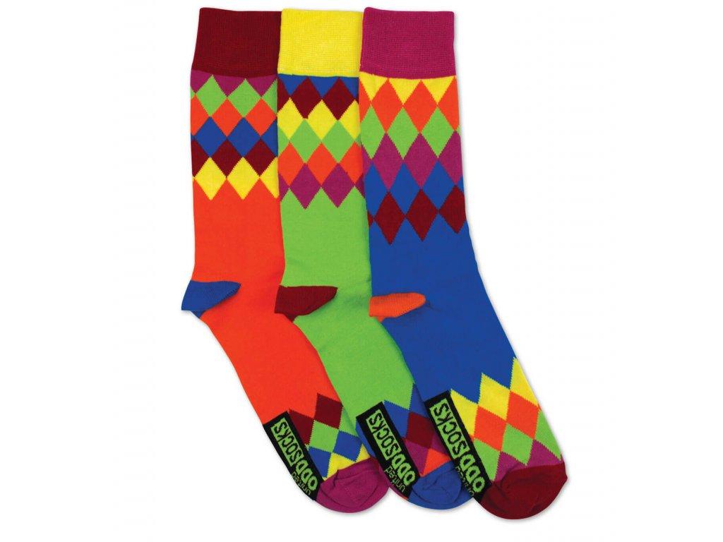 Veselé ponožky Charlie 3ks veľ.: 39-46