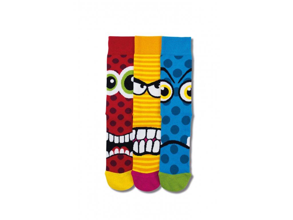Veselé ponožky Jason 3ks veľ.: 39-46