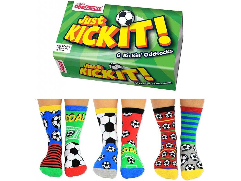 Veselé ponožky Just Kick It! veľ.: 31-39