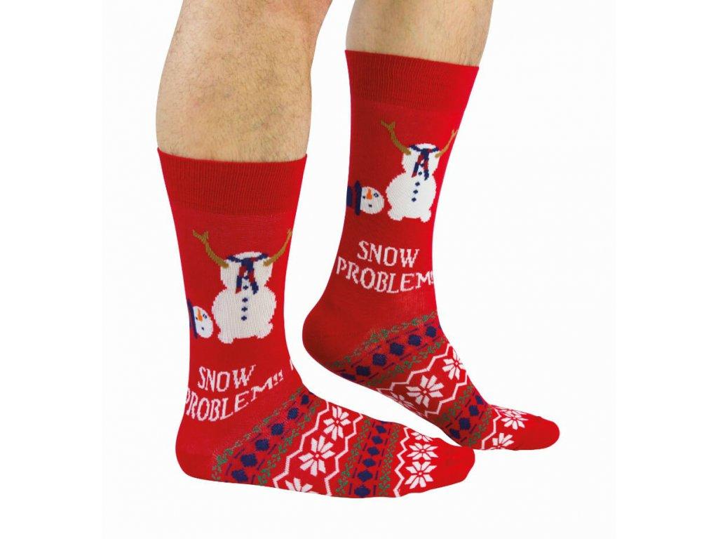 Vianočné ponožky Snow Problem veľ.: 39-46