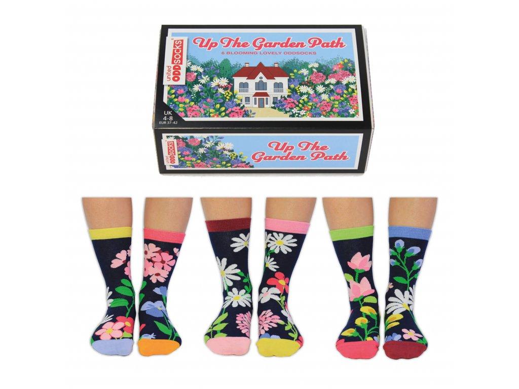 Veselé ponožky Up the Garden Path veľ.: 37-42