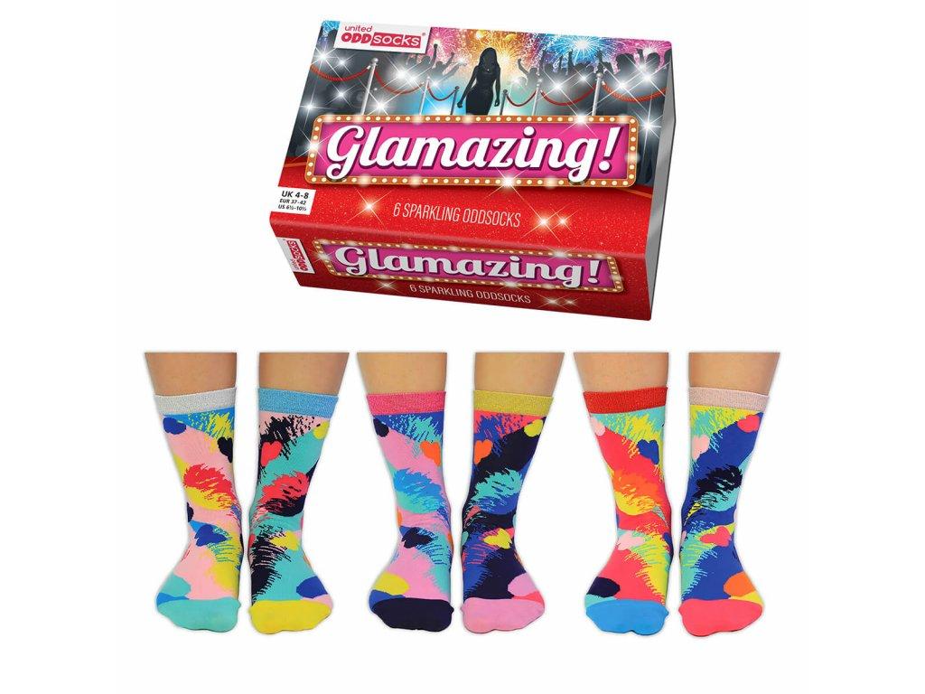 vesele ponozky glamazing