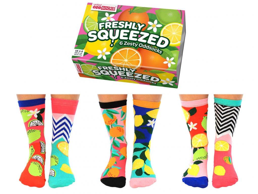 Veselé ponožky Freshly Squeezed veľ.: 37-42