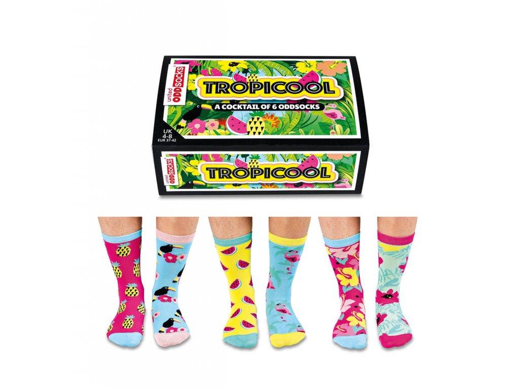Veselé ponožky Tropicool veľ.: 37-42