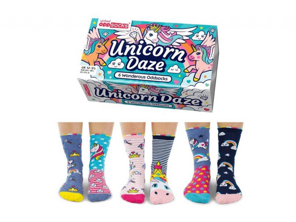 Veselé ponožky Unicorn Daze veľ.: 31-39