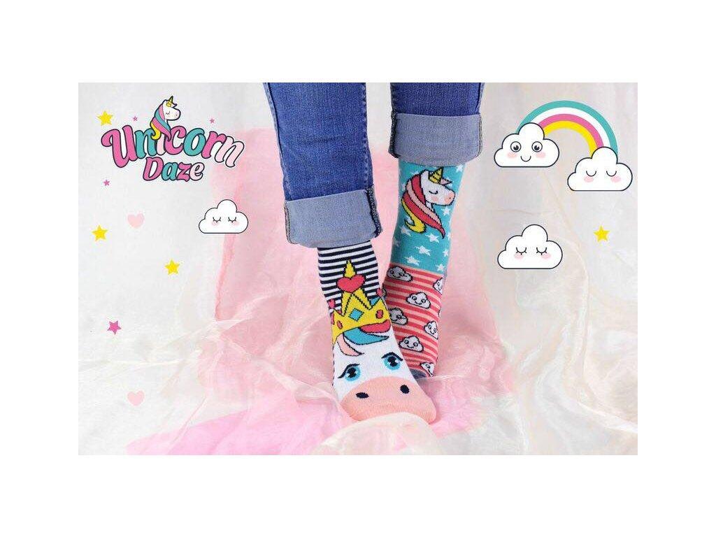 paradoo unicorn daze vesele ponozky 2