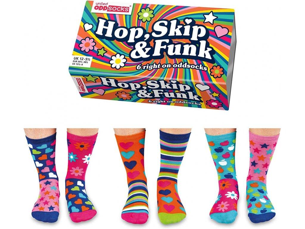 Veselé ponožky Hop, Skip & Funk veľ.: 31-39