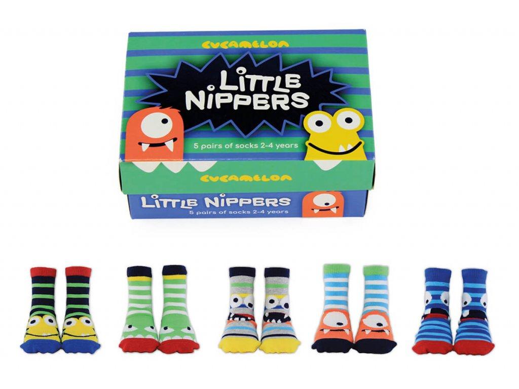 Detské veselé ponožky Little Nippers veľ.: 2-4 r.