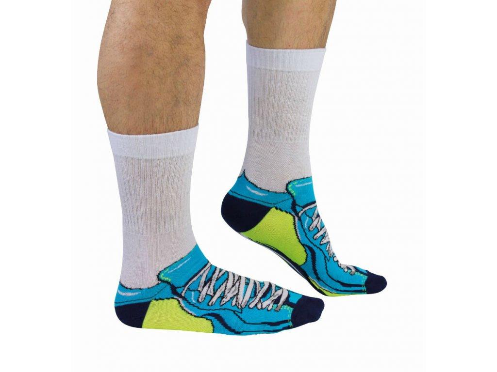 Veselé ponožky Trainer veľ.: 39-46