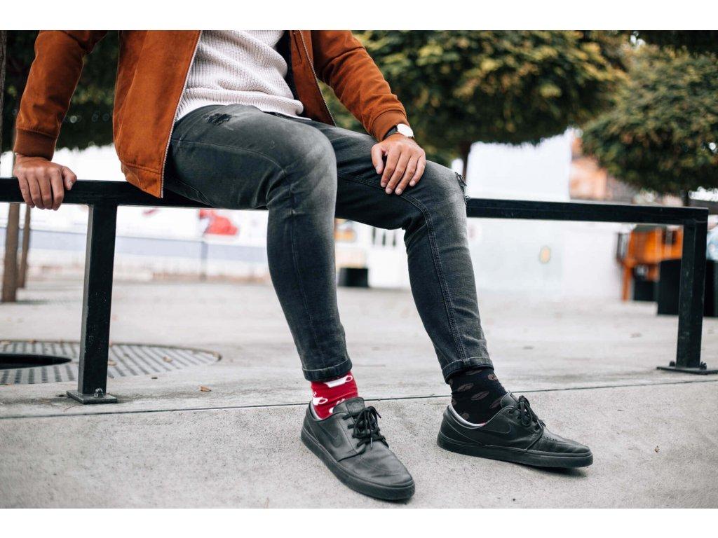 Veselé ponožky Kávopič od firmy Hesty Socks