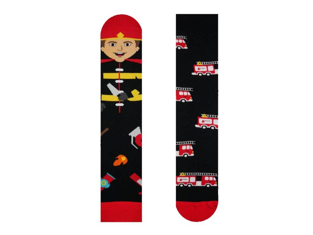 Veselé ponožky Hasič od firmy Hesty Socks