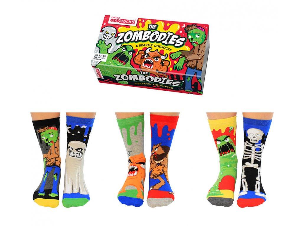 Veselé ponožky The Zombodies veľ.: 31-39