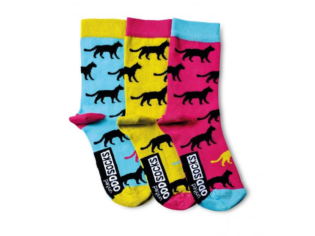 Veselé ponožky Holly 3ks veľ.: 37-42