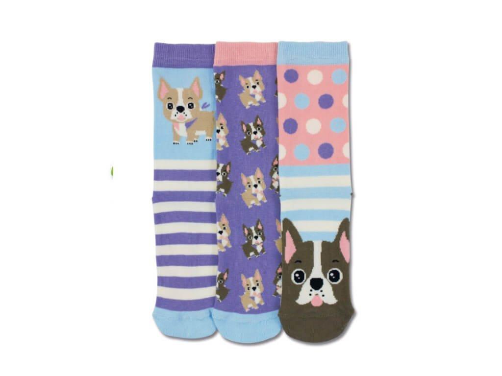 Veselé ponožky Woof 3ks veľ.: 31-39
