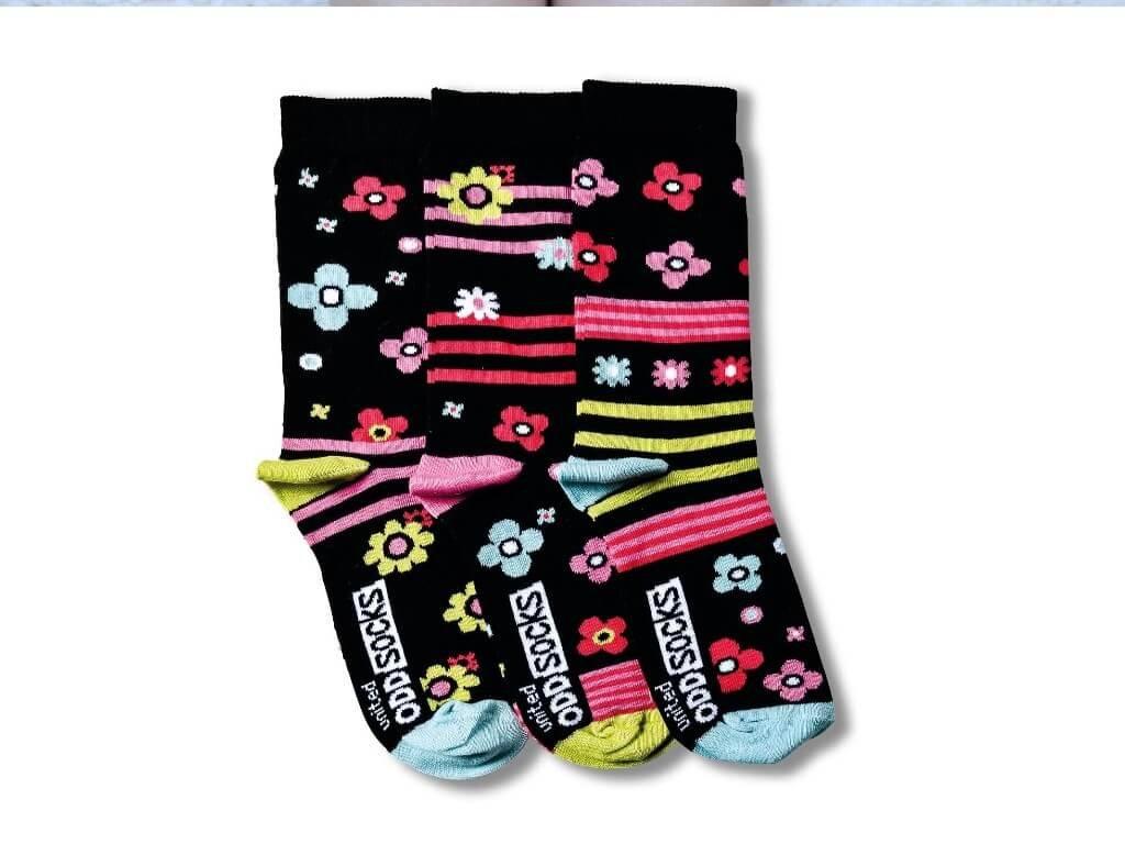 Veselé ponožky Zingy 3ks veľ.: 31-39