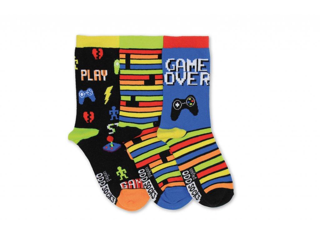 Veselé ponožky Play 3ks veľ.: 31-39
