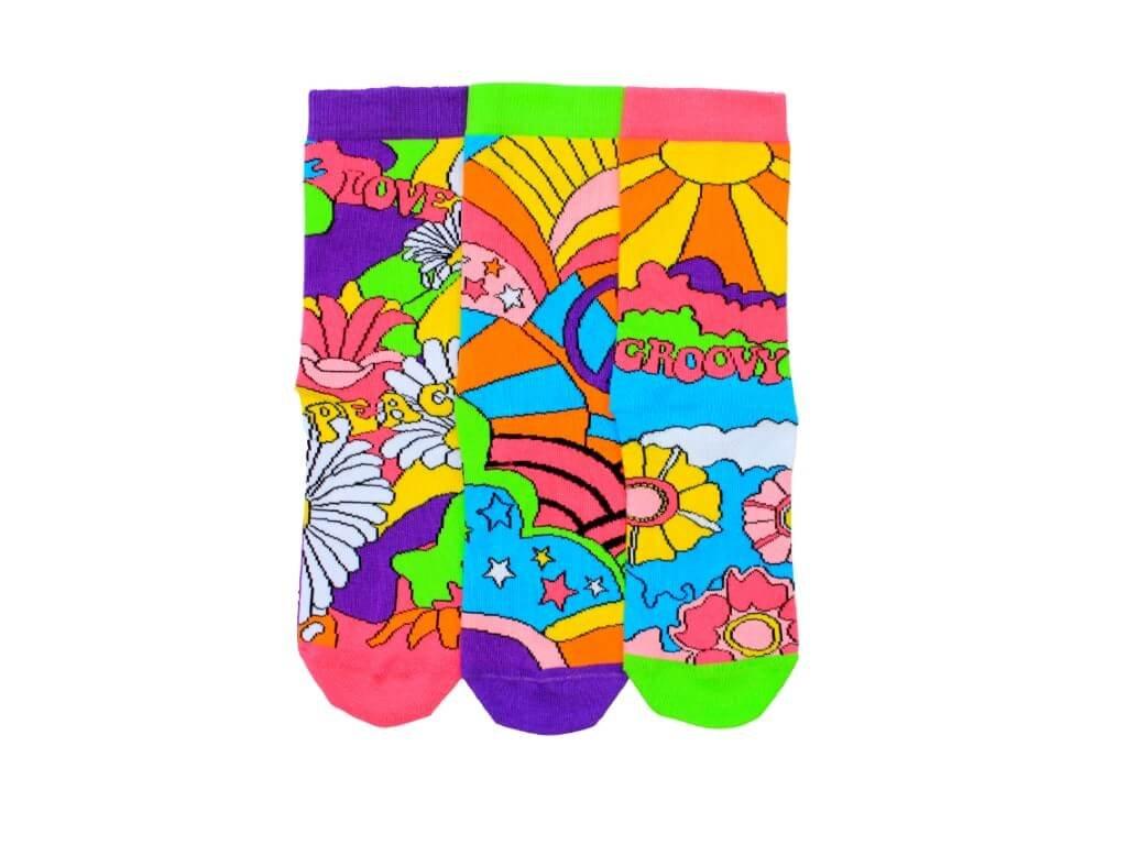 Veselé ponožky Joelle 3ks veľ.: 37-42