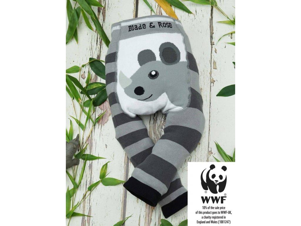 Detské legíny Organic WWF Rhino