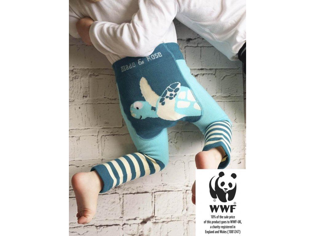 Legíny pre deti WWF Marine Turtle