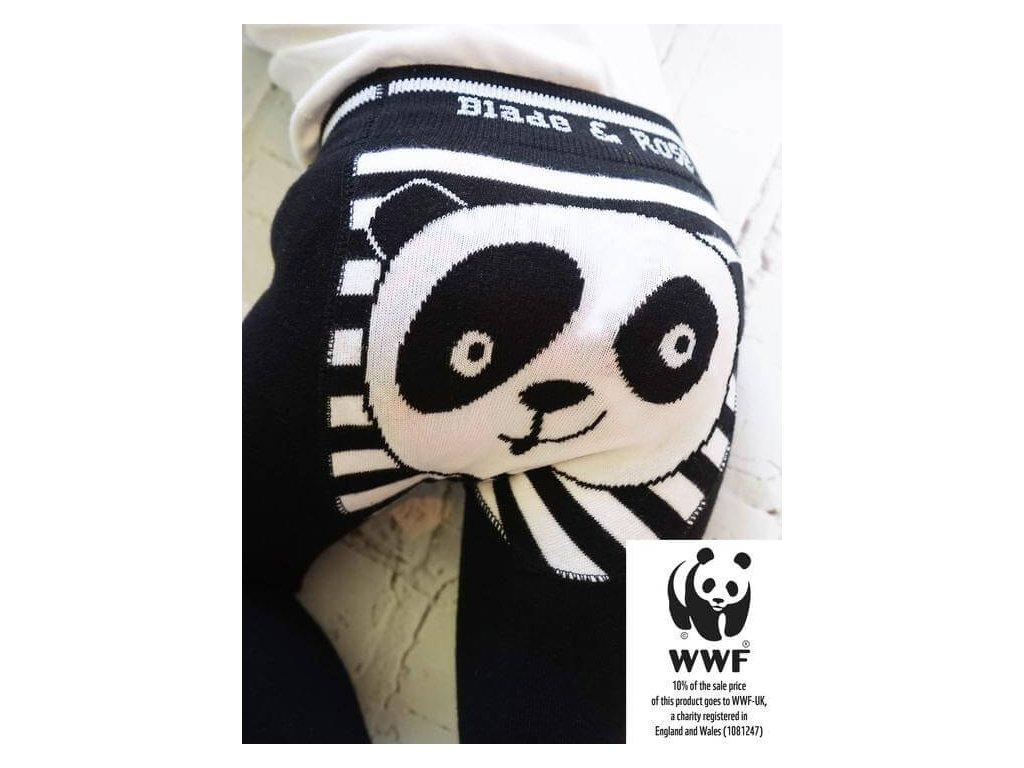 Detské legíny Organic WWF Panda
