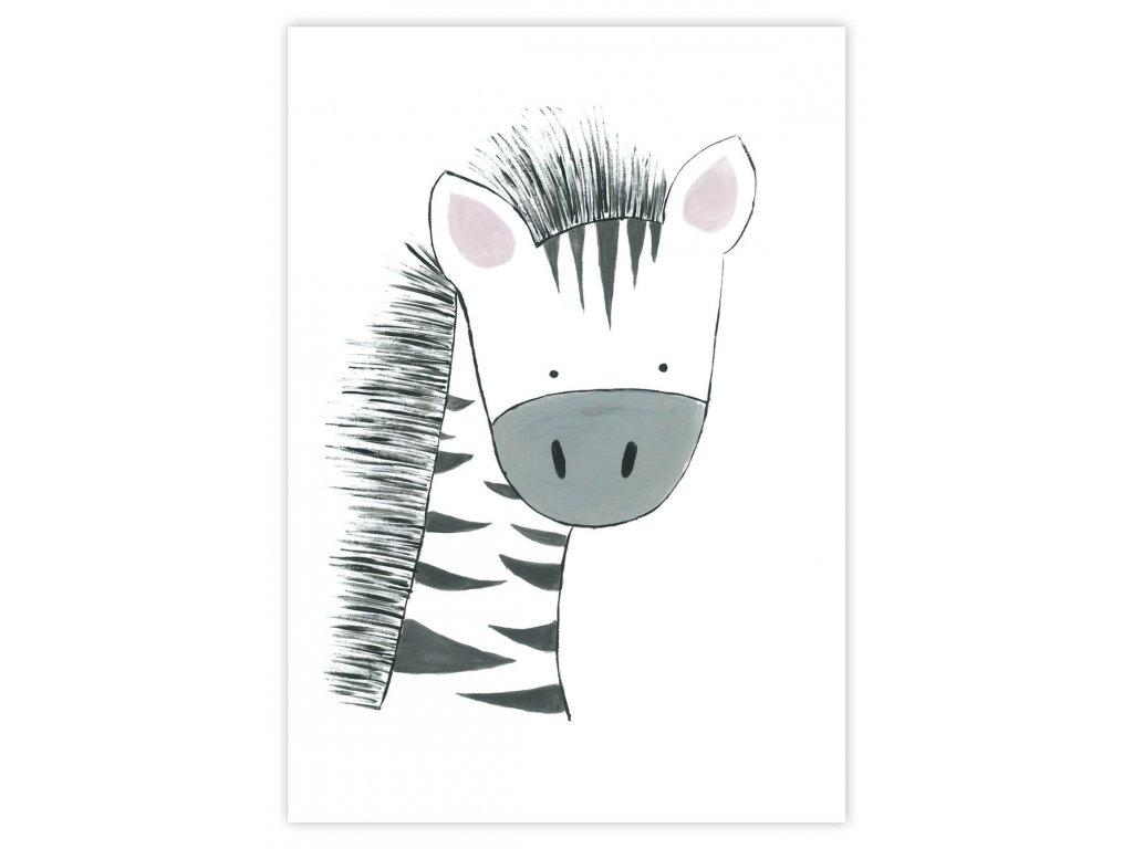 paradoo detske plagaty zebra 1