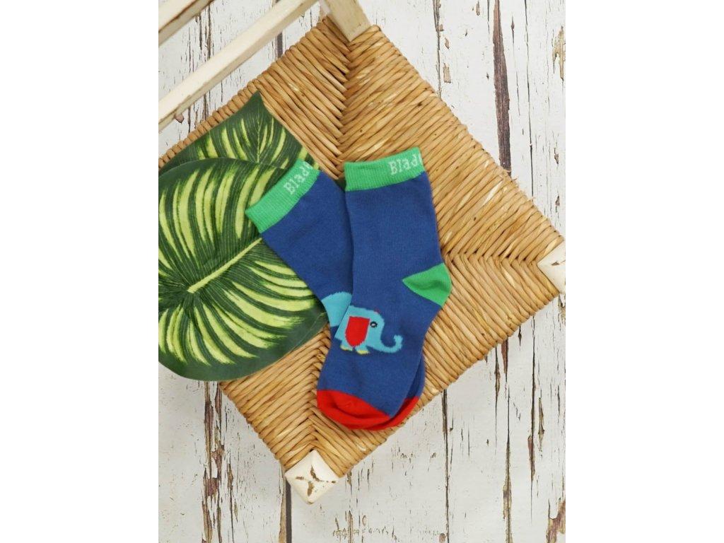 Detské veselé ponožky Elephant WWF