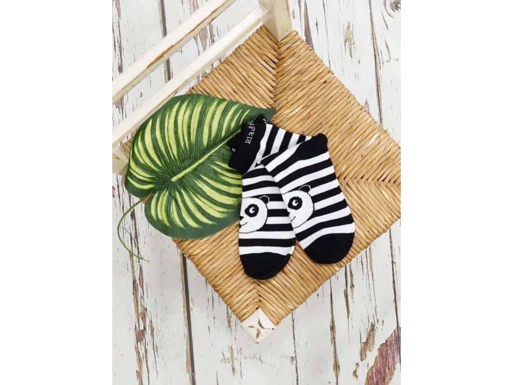 Detské veselé ponožky Panda WWF