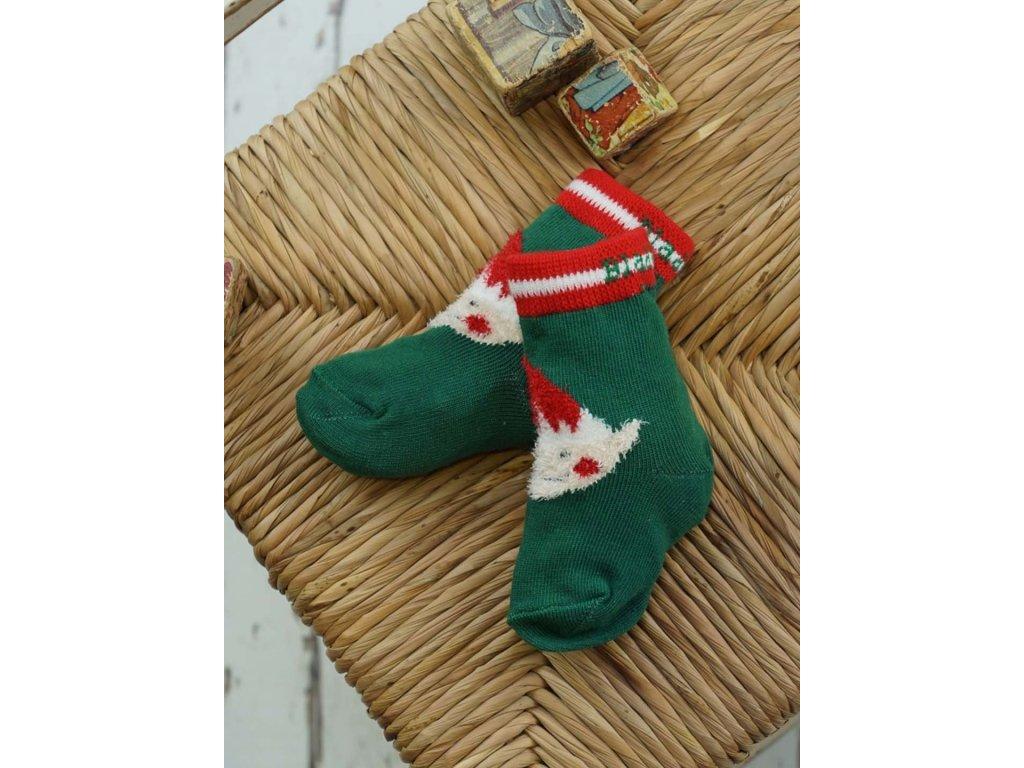 Detské veselé ponožky Christmas Elf