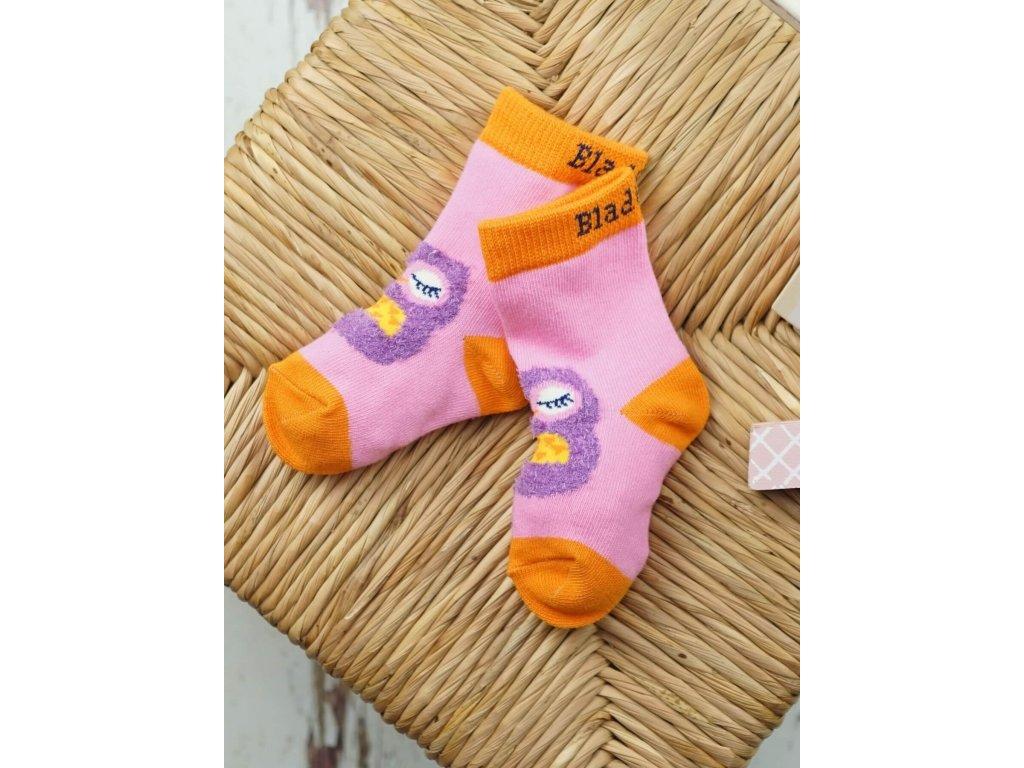 Detské veselé ponožky Betty Owl