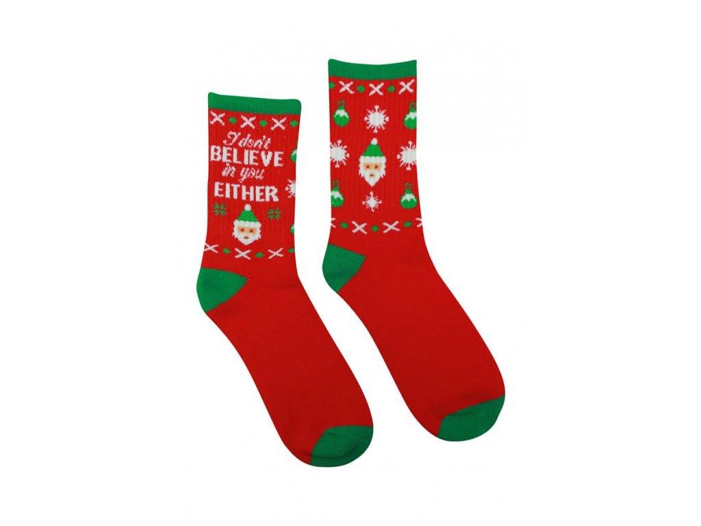 Veselé Termo ponožky Mikuláš