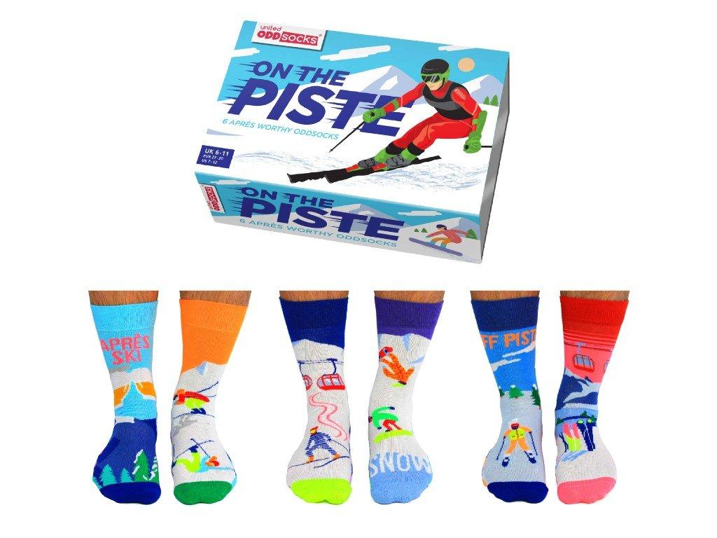 Veselé ponožky On the Piste veľ. 39-46