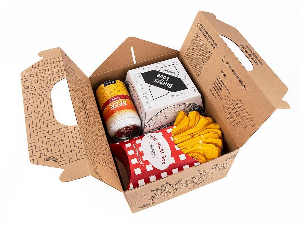 ponozky paradoo meal box