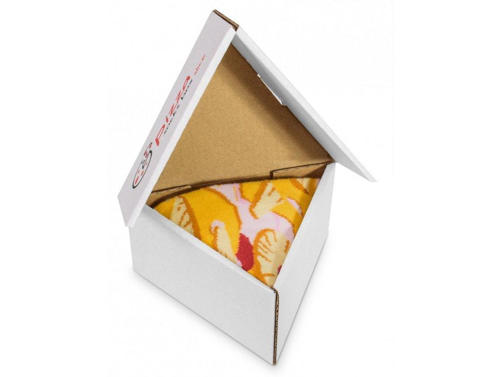 pizza box hawaii ponozky paradoo