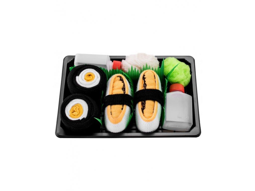 Ponožky Sushi Box - MIX 3 (2 páry)