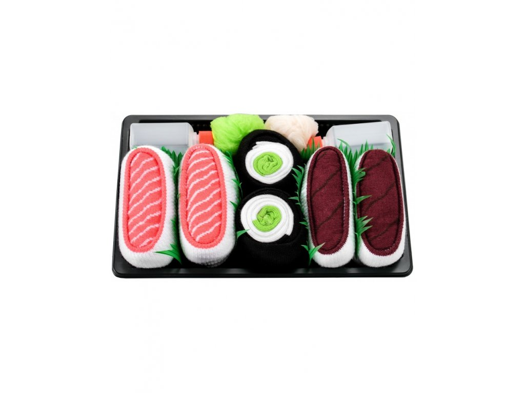 sushi box mix4 paradoo ponozky