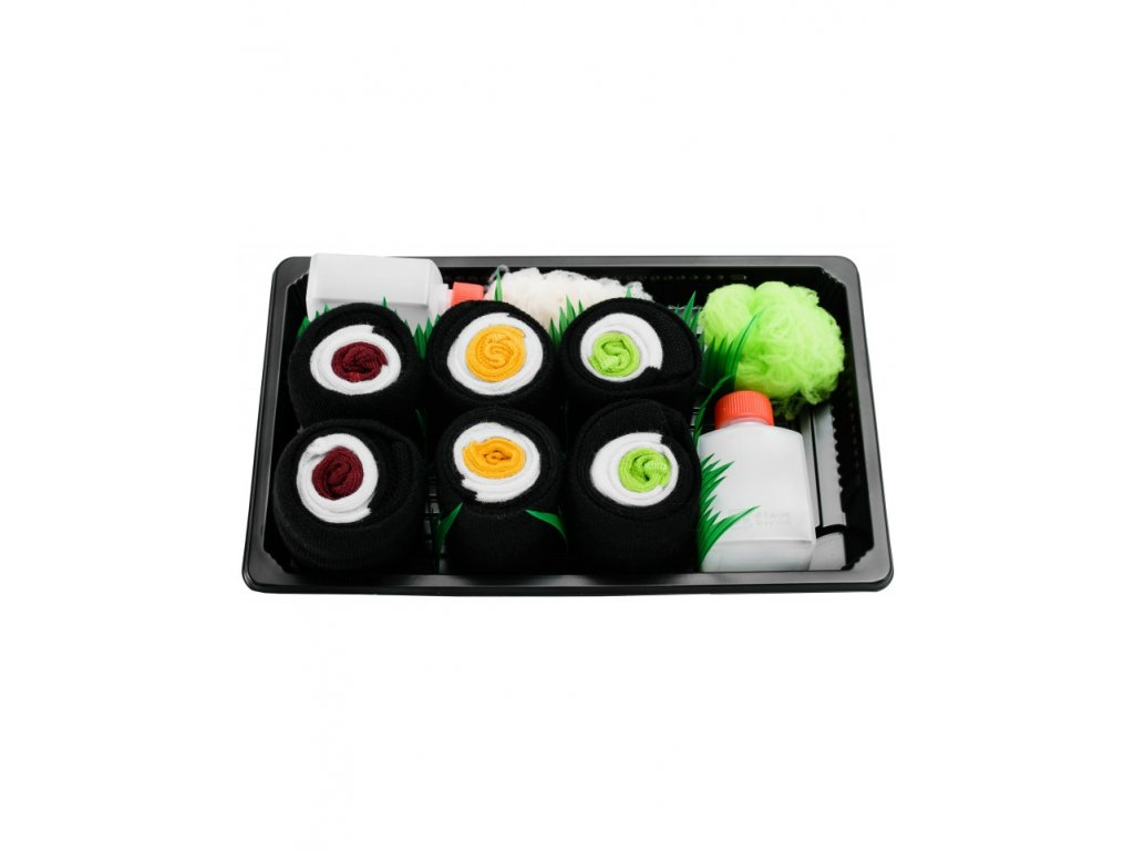sushi box mix7 paradoo ponozky