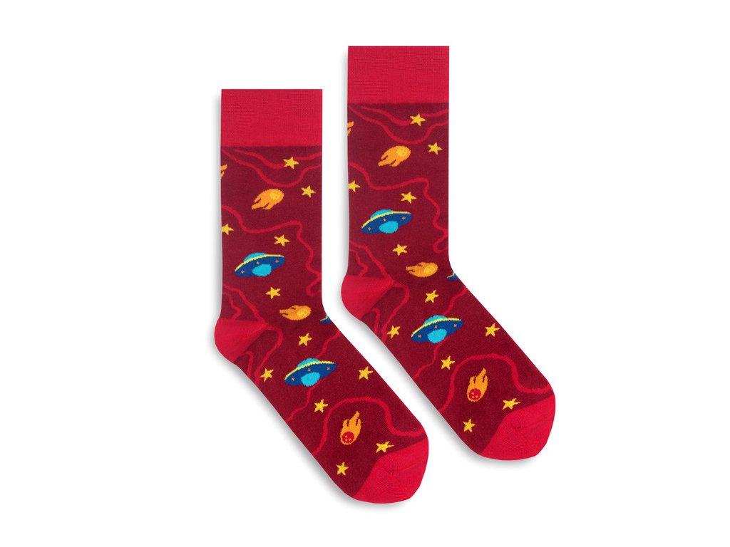 Veselé ponožky UFO