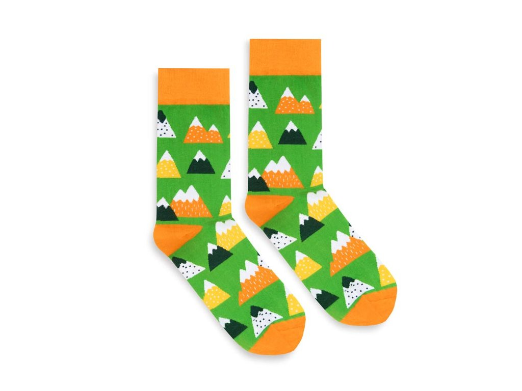 Veselé ponožky Mountains