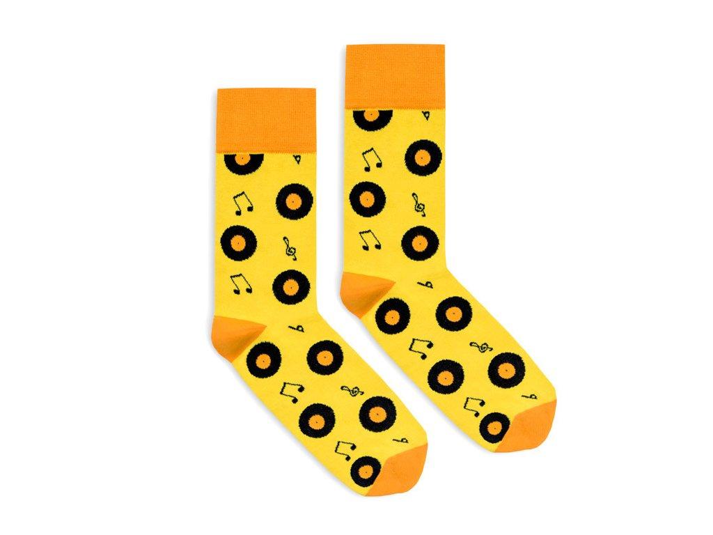 Veselé ponožky Vinyl