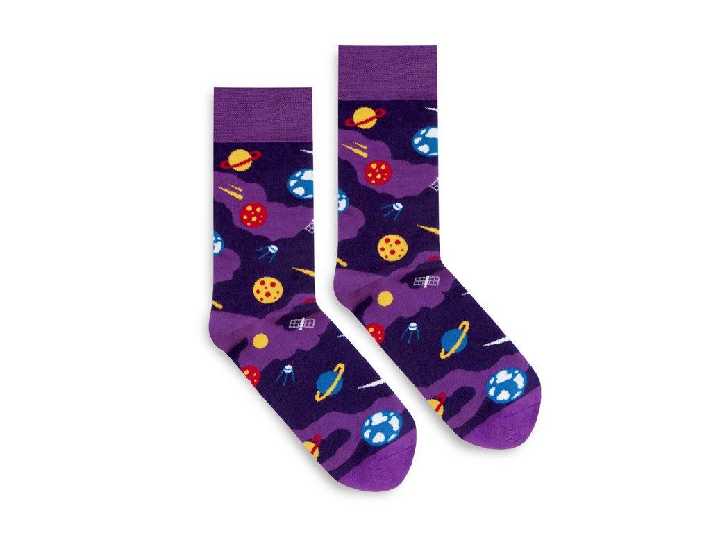 Veselé ponožky Planets